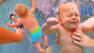 Video PUSHED IN THE POOL PARTY! download MP3, 3GP, MP4, WEBM, AVI, FLV November 2017