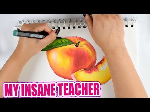 School Stories With Rae (& Full Marker Drawing)