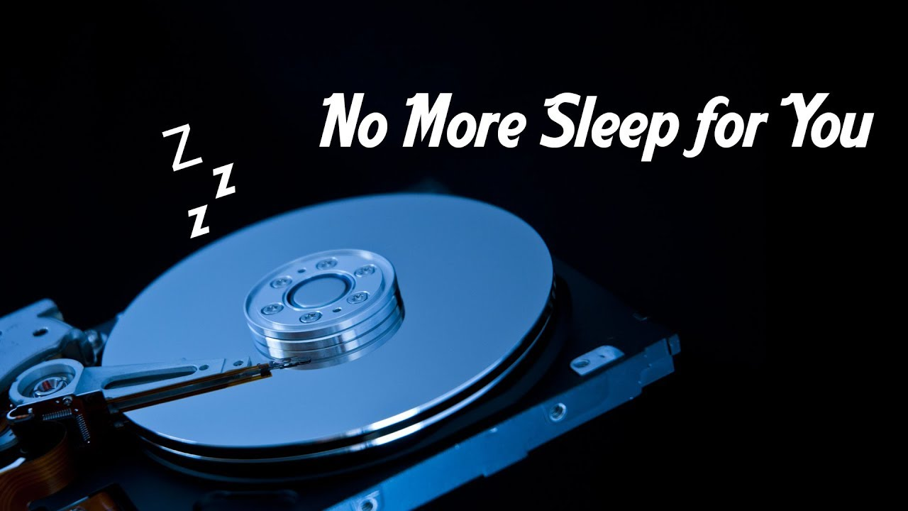 Resultado de imagen para Prevent Disk Sleep