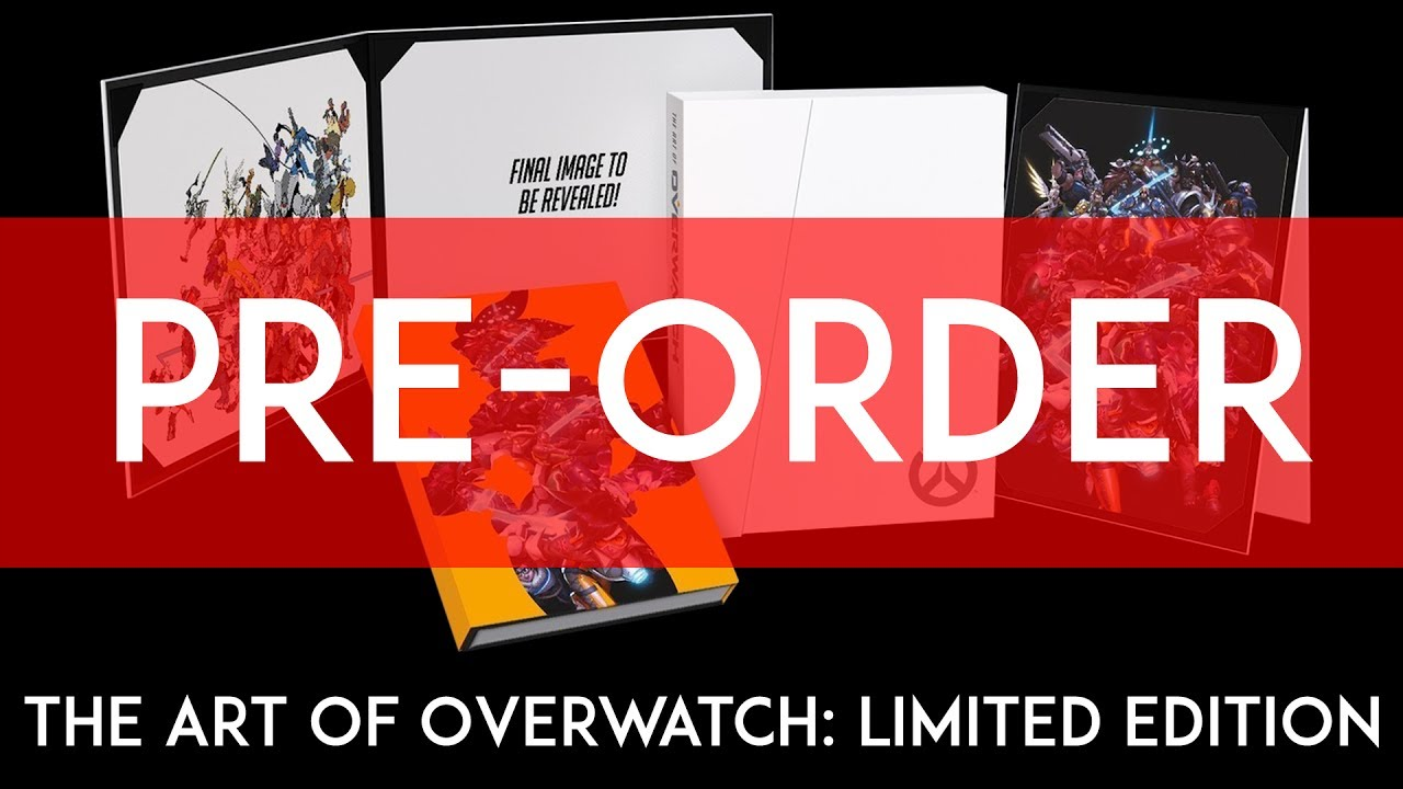 The Art Of Overwatch Limited Edition PRE ORDER