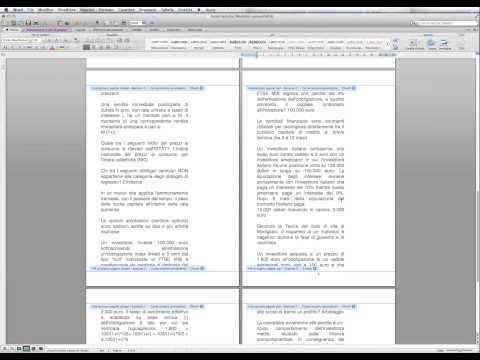 Come numerare le pagine in word saltando le prime