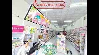 Lắp đặt kệ siêu thị cho Shop MẸ BẦU & SƠ SINH TUTICARE tại Ninh Kiều Cần Thơ