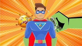 Coronavirus Explained To Kids (by A Superhero) - IsiXhosa Version