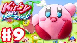 Kirby and the Rainbow Curse - Gameplay Walkthrough Part 9 - Level 3-3, 3-Boss 100%! (Nintendo Wii U)