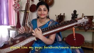 shankarabharanam Title song by veena srivani