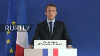 LIVE  Macron speaks in Rouen day after attack on Champs Elysees