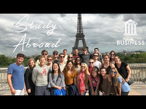 Ole Miss School of Business Administration Study Abroad Promo