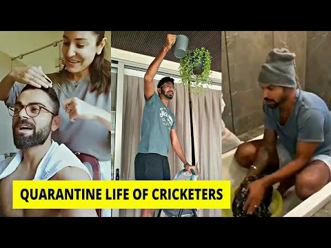 Quarantine Life of Cricketers ft. Virat Kohli, Shikhar Dhawan, Rohit Sharma, Yuzi Chahal, KL Rahul