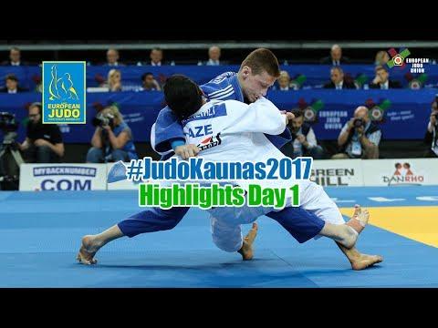 Cadet European Judo Championships 2017: HIGHLIGHTS Day 1