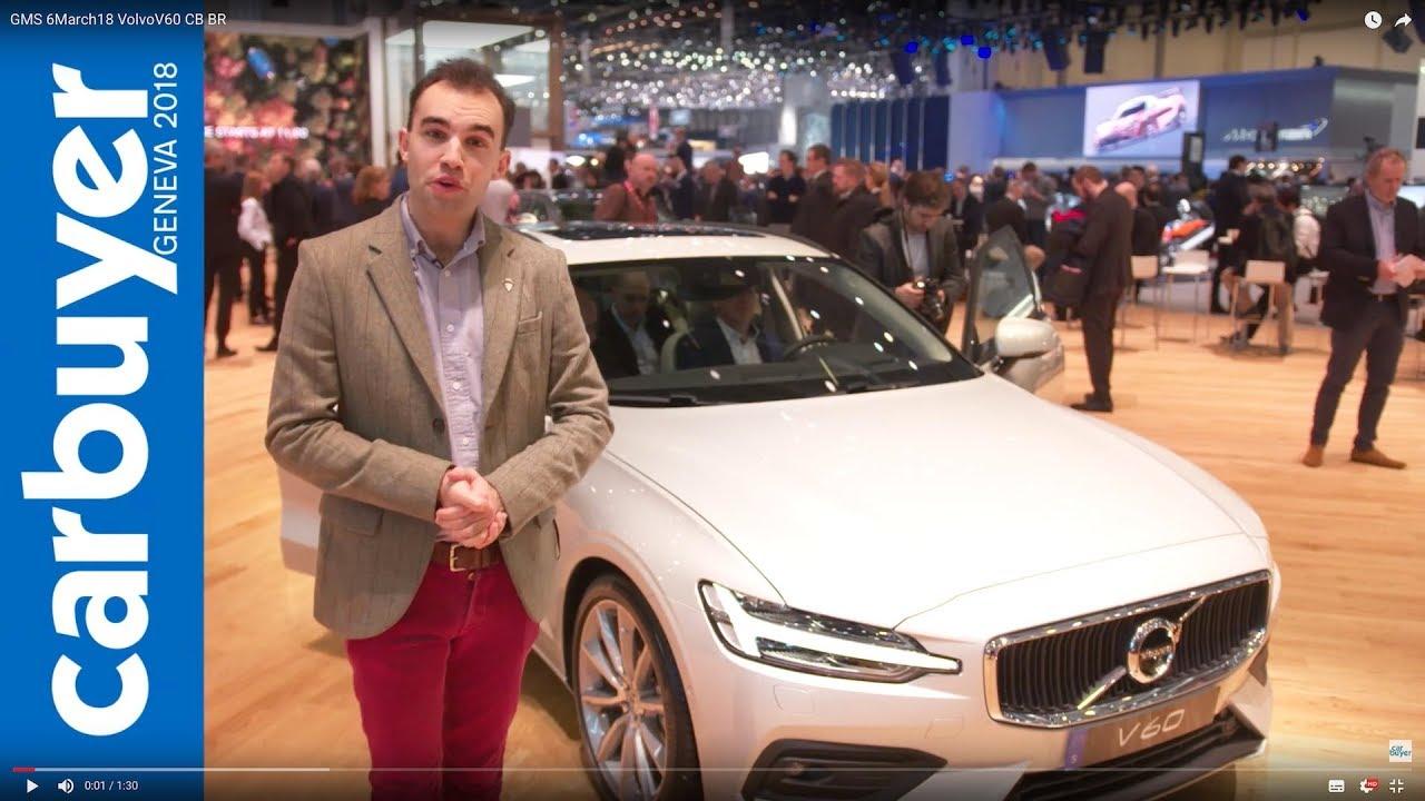 2018 Volvo V60 estate walkaround and interior – Geneva Motor Show 2018 - Dauer: 91 Sekunden