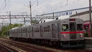 養老鉄道7700系TQ03・TQ12 西大垣駅・多度駅にて