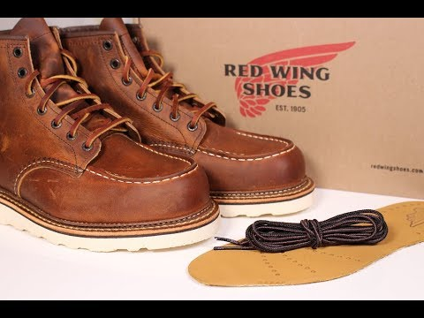 "RED WING ""1907"" Moc Toe Boot *First Impressions*"