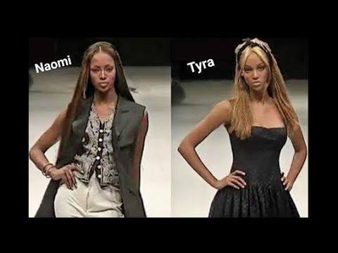 Naomi Campbell & Tyra Banks - Runway Walk