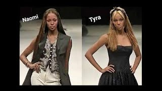 Naomi Campbell & Tyra Banks - Runway Walk