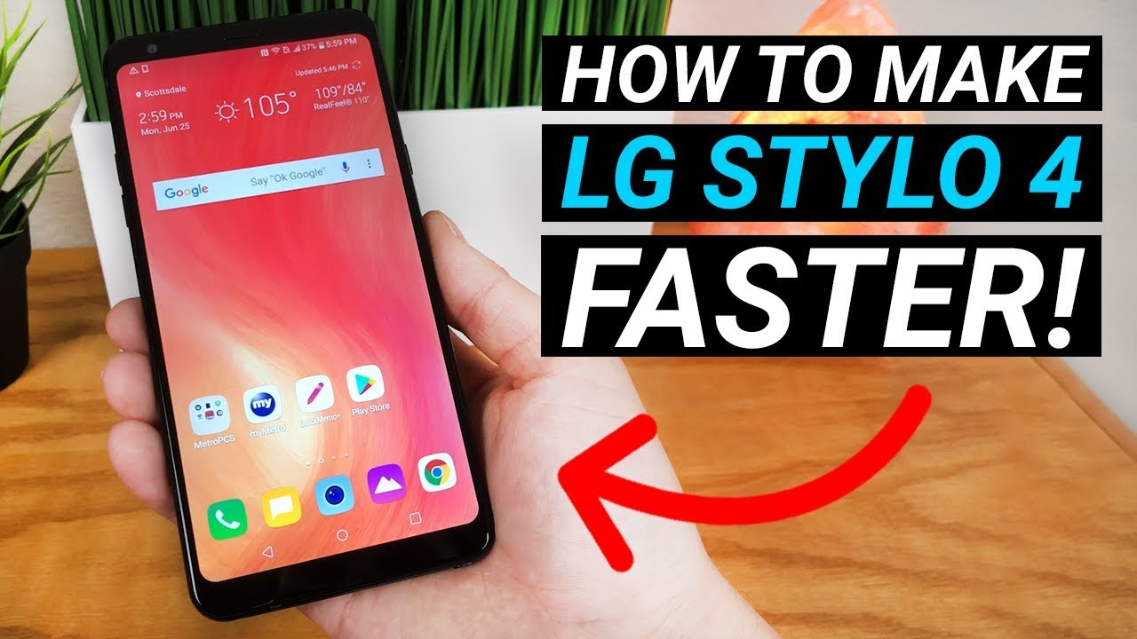 How to Make LG Stylo 4 Faster! (No need to install anything)