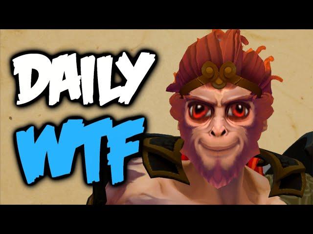 Dota 2 Daily WTF - Monkey Emperor