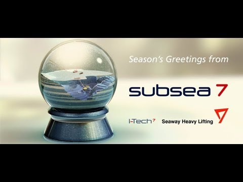 Season's Greetings from Subsea 7 ❄️
