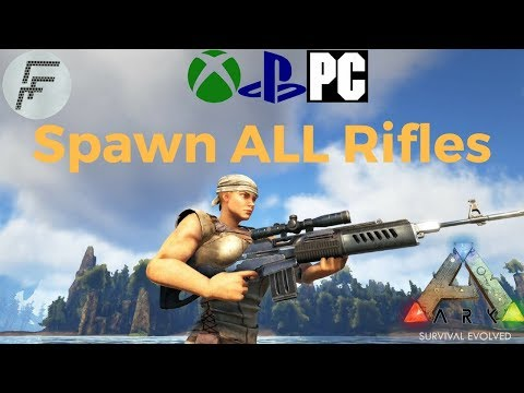 ARK: Survival Evolved How to spawn Rifles