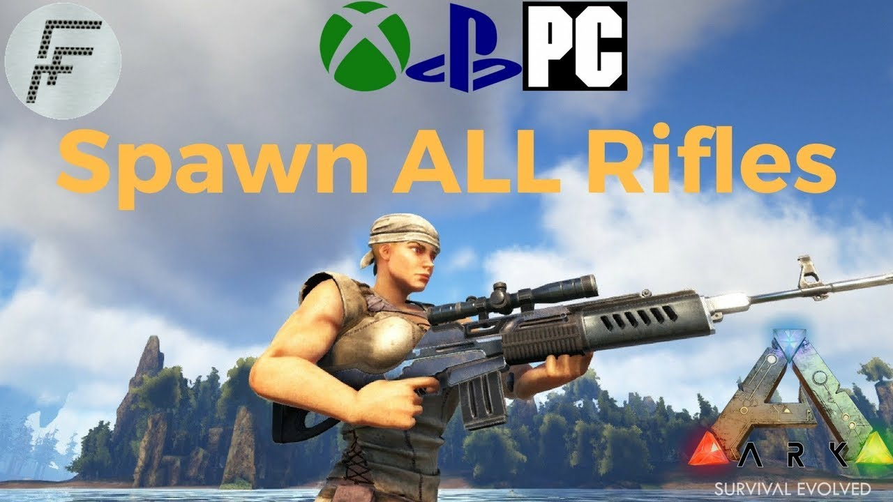 Ark survival evolved how to spawn all rifles youtube ark survival evolved how to spawn all rifles malvernweather Choice Image