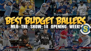 YOU MUST GRAB THESE PLAYERS |  MLB THE SHOW 18 DIAMOND DYNASTY BUDGET BALLERS