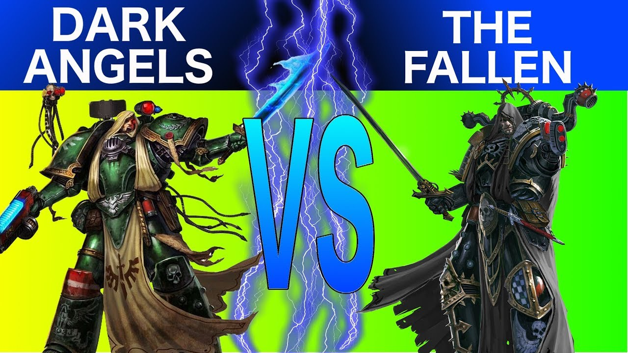 Warhammer 40K 8th Edition Live Battle Report: Dark Angels Vs The Fallen