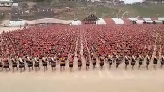 5000 Konyak Naga Women Gears up for Guinness World Records