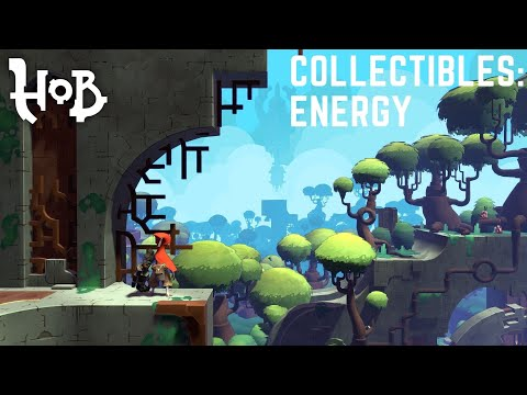 HOB collectibles: All Energy gears (cores) Locations with map. Core Collector.