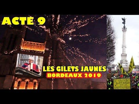 Gilets Jaunes à BORDEAUX - Acte 9 samedi 12 janvier 2019