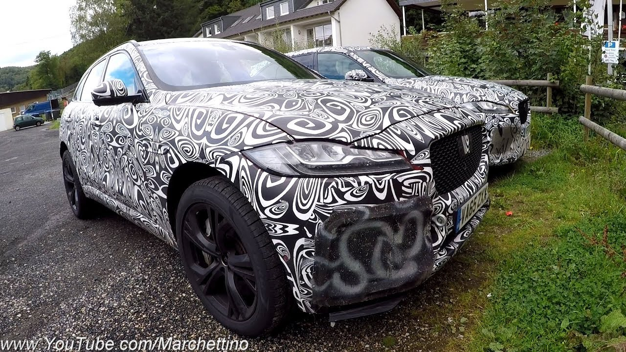 2018 Jaguar F Pace Svr Hard Testing Loud Exhaust Sound