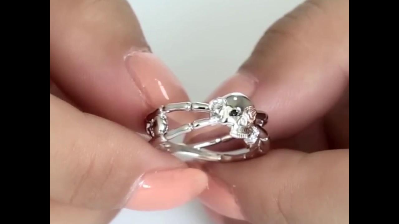 2c9f76f795 VANCARO Skull Promise Ring - YouTube