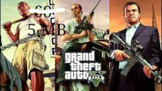 GTA 5 download in PC  in 5 mb highly compressed real 10000%