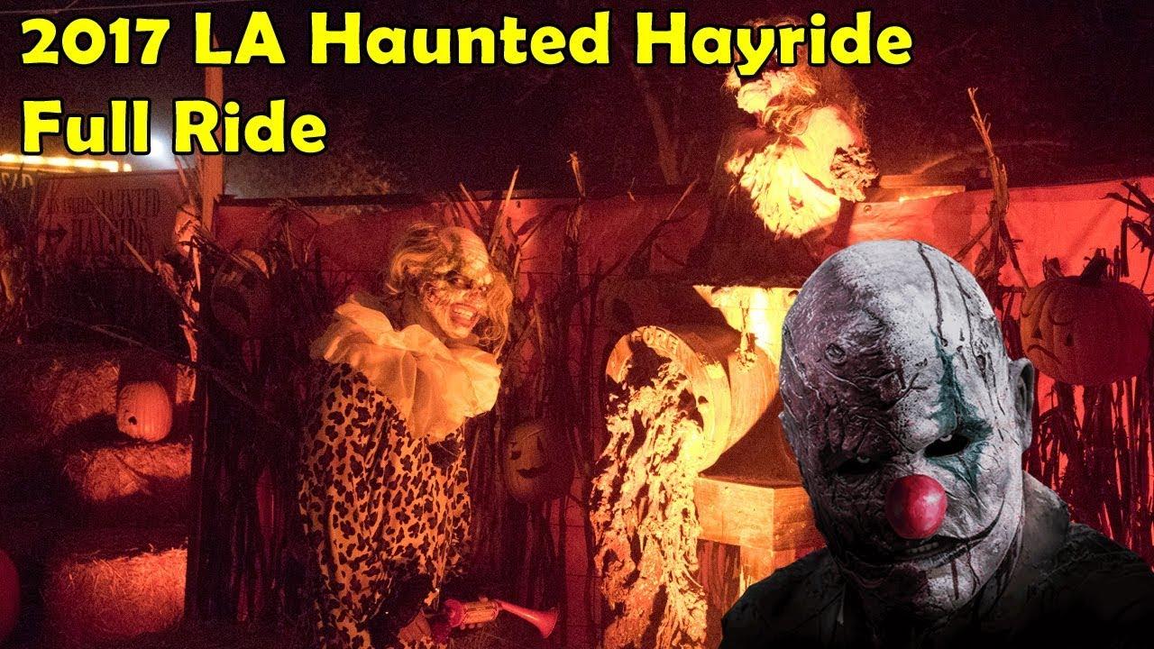 2017 LA Haunted Hayride Full Ride Night Vision