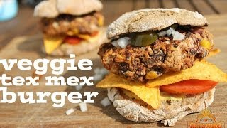 Veggie Tex Mex-burger - English Grill- And Bbq-recipe - 0815bbq