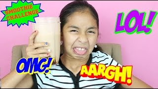 SMOOTHIE CHALLENGE!! Extreme Disgusting ...