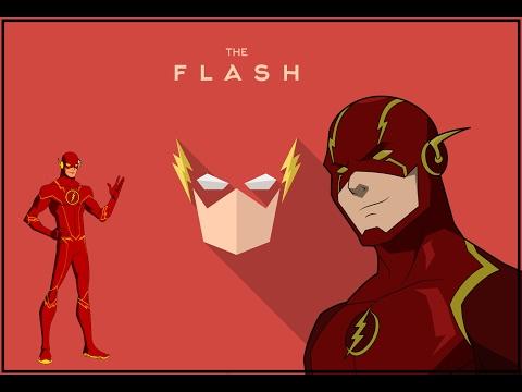DC Флэш, простой костюм своими руками