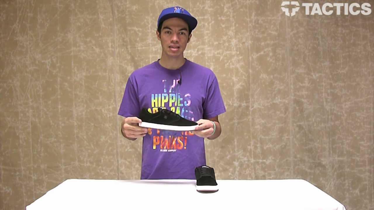Dc Taylor Men's Mikey ShoeBlack Skate 1J3FKcTl