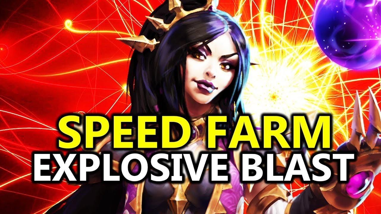 Season  Wizard Explosive Blast Build