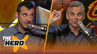 Doug Gottlieb reacts to Rockets - Warriors Game 4, Talks LeBron vs. Durant | NBA | THE HERD
