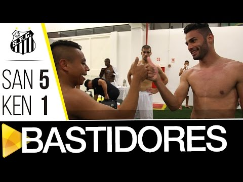 Santos 5 x 1 Kenitra | BASTIDORES | Amistoso Internacional (28/01/17)