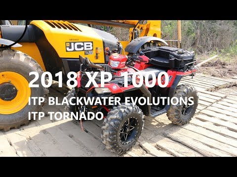 Around the Farm on ITP Blackwater Evolutions Tires and Tornado Wheels
