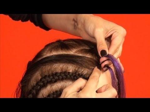 Step 3 Of 3: How To Add Braiding Hair To Cornrows - DoctoredLocks.com