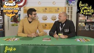 [Lucca Comics & Games] Boardgame Studio: Fiasco