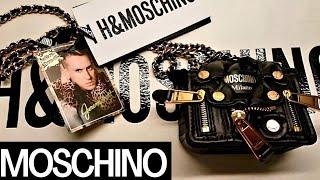 MOSCHINO (tv) H&M X MOSCHINO Miniature Leather Biker Bag