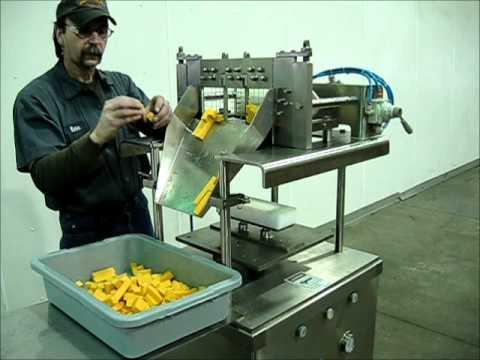 cheese cubing machine