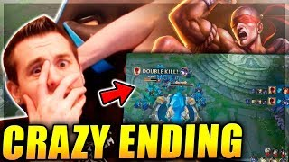 YOU WON T BELIEVE THIS GAME S ENDING ONLY Lee Sin to Masters 10 - League of Legends