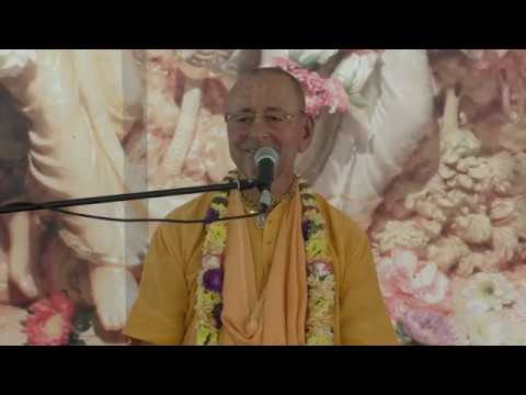 Лекция Е.С. Шрила Шиварама Свами на фестивале Санкиртаны