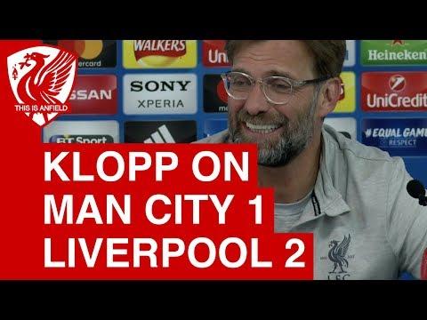 Jurgen Klopp Post-Match Press Conference | Man City 1-2 Liverpool (1-5 agg)