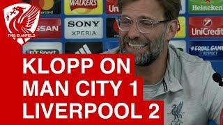 Man City 1-2 Liverpool (1-5 agg) |  Jurgen Klopp Post-Match Press Conference