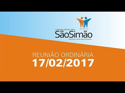 REUNIAO ORDINARIA 17/02/2017