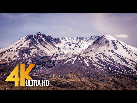 Mt. St. Helens - 4K Nature Documentary Film - 1.5 HRS